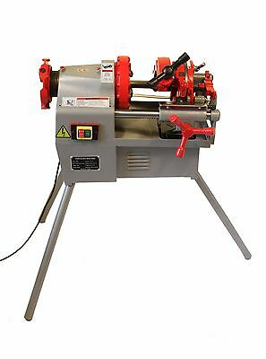 "Electric Pipe Threader Machine (1/2"" - 2"") Threading Cutter, Deburrer NPT P50"