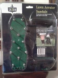 Saxon Lawn Aerator Sandals ( New still in package ) Greenwith Tea Tree Gully Area Preview