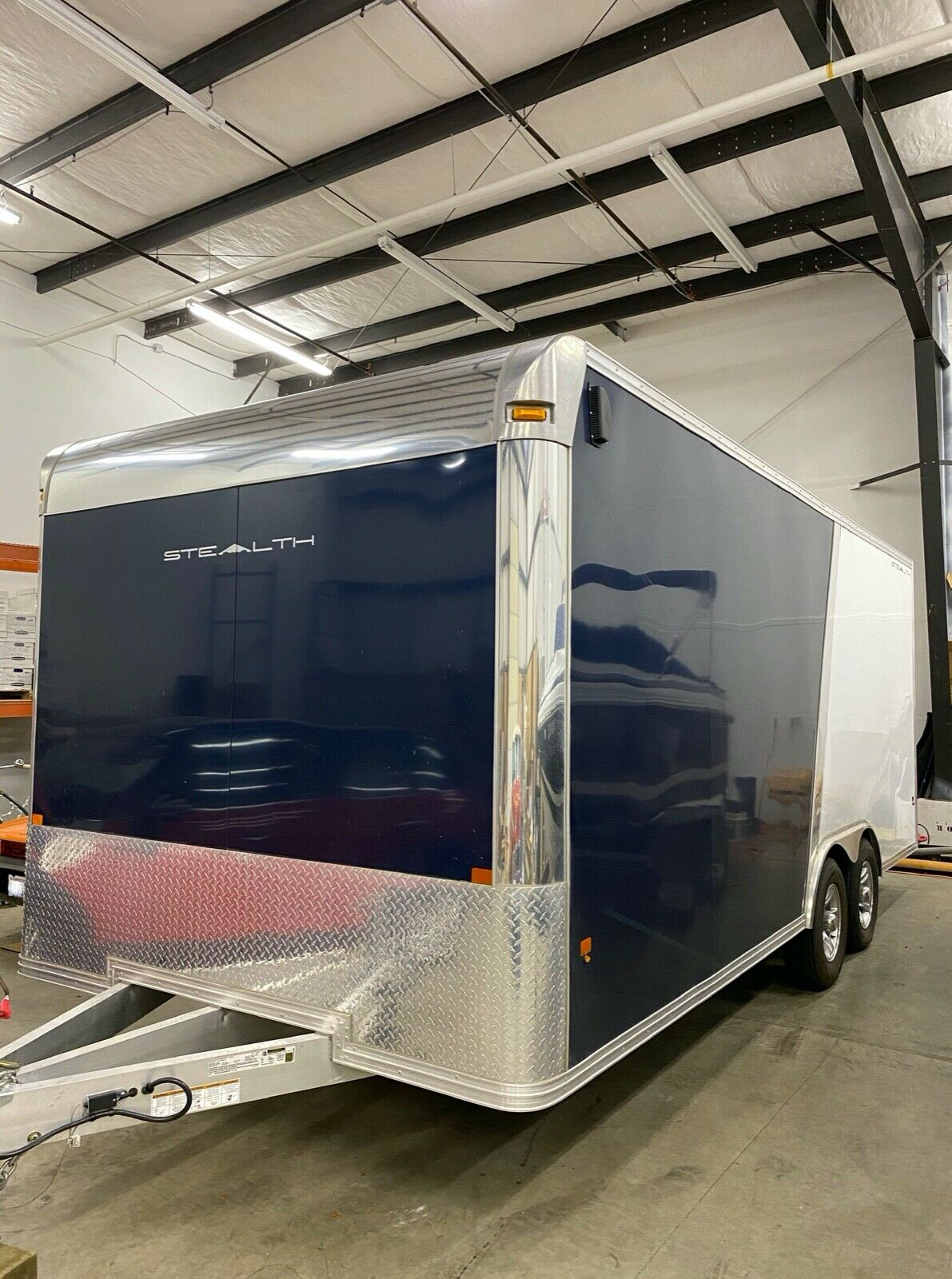 ALCOM-STEALTH ALUMINUM 8.5 X 20 Enclosed Car Hauler Cargo Trailer