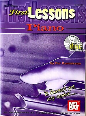 FIRST LESSONS PIANO- METHOD BOOK/CD SET by PER DANIELSSON- NEW! Method Book Cd Set