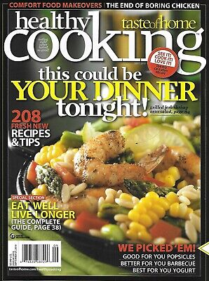 A Taste Of Home Magazine Healthy Cooking Barbecue Best yogurt Popsicles (Best Tasting Healthy Yogurt)