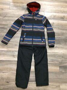 Manteau de printemps et pantalon de nylon pour garçon