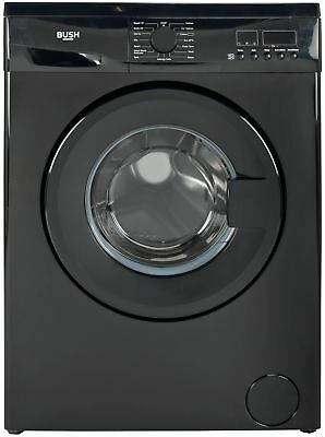 Bush WMDF714B Free Standing 7KG 1400 Spin Washing Machine A++ Black. From Argos