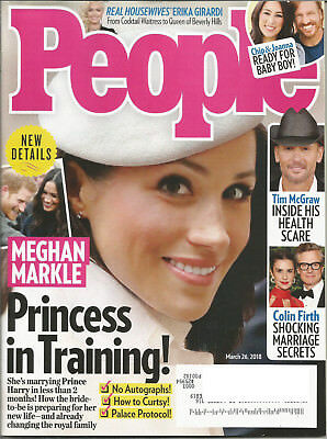 People Magazine  March 26  2018  Meghan Markle Princess In Training   Tim Mcgraw