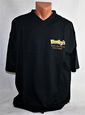 Dooleys Likör T-Shirt in schwarz mit Logo Größe XL tshirt Shirt  Neu & OVP