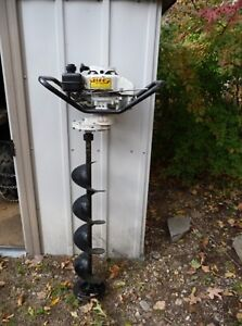 "Jiffy 9"" gas auger"