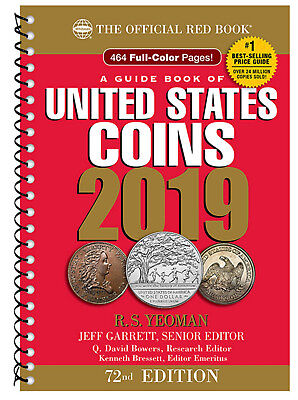 Whitmans Official Red Book Guide Of United States Coins 2019  Spiral