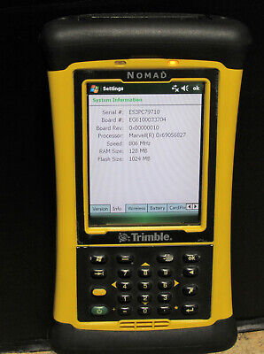 Trimble Nomad 900lc Rugged Mobile Handheld Survey Data Collector Nmdagy-111-00