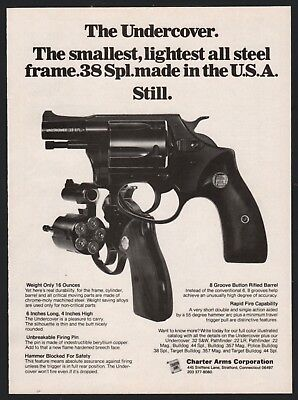 Advertisements - Charter Arms