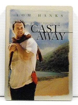 CAST AWAY 2-Disc DVD SteelBook Collectors Edition Tom Hanks Wilson