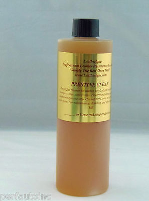 LEATHERIQUE PRESTINE CLEAN LEATHER CLEANER 16OZ. CAR DOOR SEALS COUCH PURSE NEW