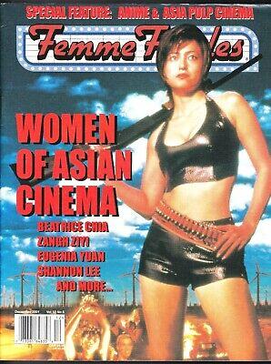 Usado, FEMME FATALES VOLUME 10 # 6 HORROR MAGAZINE WOMEN OF ASIAN CINEMA SHANNON LEE comprar usado  Enviando para Brazil