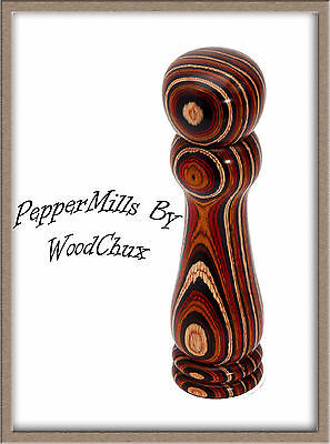 "Peppermill or Salt Mill Pepper Woodturning Lathe Kit Variable Length 4"" To 12"""