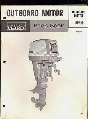 1978 / 35 SEA KING BY CHRYSLER OUTBOARD PARTS MANUAL / MONTGOMERY WARD / MW-123