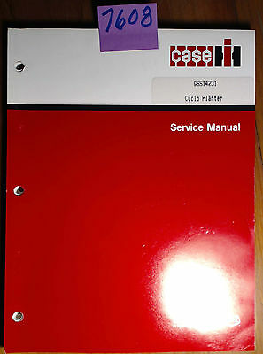 Case Ih International Cyclo Planter Service Manual Gss 1423-1 Wrevision 3 378