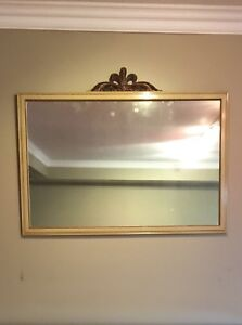Beautifully Detailed Framed Vintage Mirror