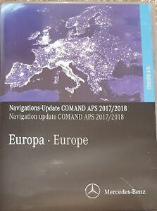 2017/18 Mercedes NTG2 Sat Nav  Disc Navigation Map DVD Europe C ML Class