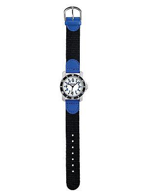 Scout 280377002 Jungen-Uhr Lernuhr Diver Taucheruhr Schwarz Blau °Neu°