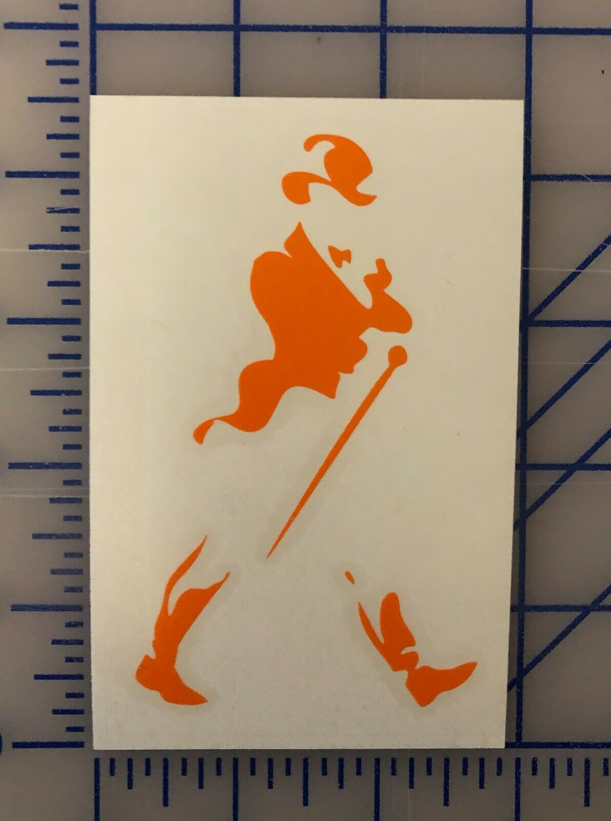 Home Decoration - Johnnie Walker Decal Sticker - Multiple Colors - Scotch Whiskey Window  Bumper