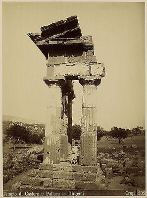 Giovanni Crupi: Tempio di Castore, Junge in Toga. Nachlass Ernst Haeckel