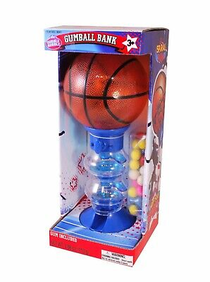 Gumball Machine - Basketball Coin Operated Fun Gumball Machine