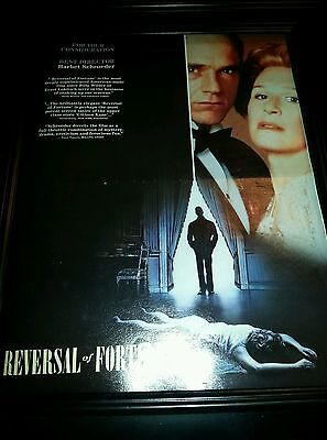 Reversal Of Fortune Best Director Academy Awards Promo Poster Ad (Best Poster Directors Posters)