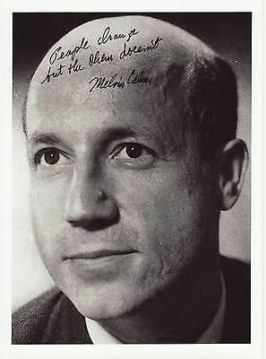 Melvin Calvin Originalautogramm auf Großfoto Nobel Chemie 1961 autograph