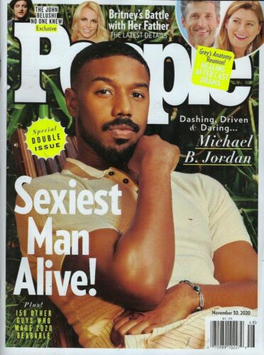 People Magazine, Michael B Jordan Sexiest Man Alive November 30, 2020, Brand New