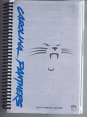 2010 Carolina Panthers Nfl Football Media Guide