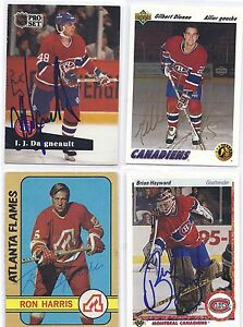 J-J-Daigneault-Signed-Autographed-Hockey-Card-Montreal-Canadiens-1991-Pro-Set