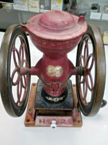 Antique Coffee Grinder Mill - Philadelphia Enterprise No.2 USA