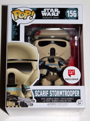SCARIF STORMTROOPER FUNKO POP FIGURE STAR WARS ROGUE ONE WALGREENS EXCLUSIVE