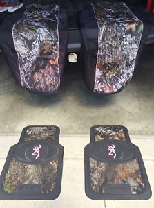 BROWNING SEAT COVERS AND FLOOR MATS