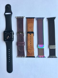 Apple Watch Series 1 with 5 bands