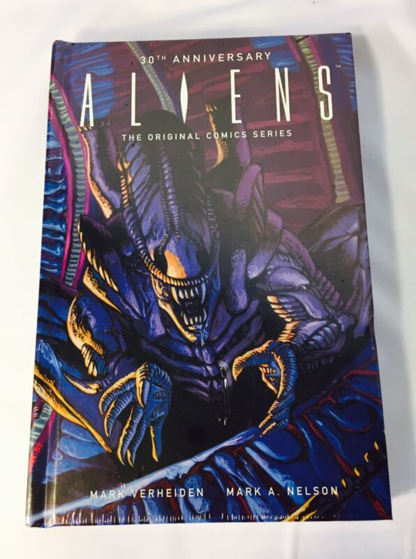 Aliens 30th Anniversary The Original Comic Series Hardcover Loot Crate Book