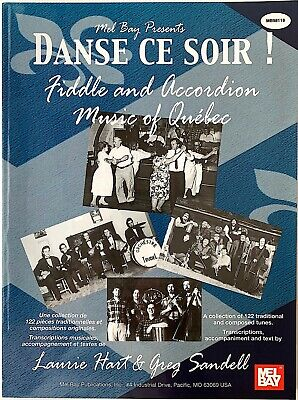 DANSE CE SOIR- FIDDLE AND ACCORDION MUSIC OF QUEBEC- 122 TUNES/ SONGBOOK!