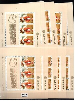 /// 10X PORTUGAL - MNH - EUROPA CEPT 1985 - MUSICAL INSTRUMENTS - MUSIC