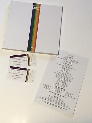 2014 Kennedy Center Honors Program and Tickets Tom Hanks, Sting, Lily (Lily And Tom)