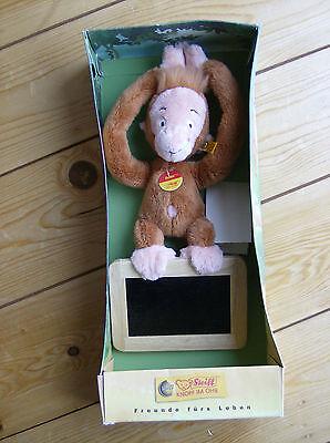 """STEIFF Orang Utan """" Kleiner Dodo """" WDR TV. Monkey Jungle Book + Box  UNBENUTZT"""
