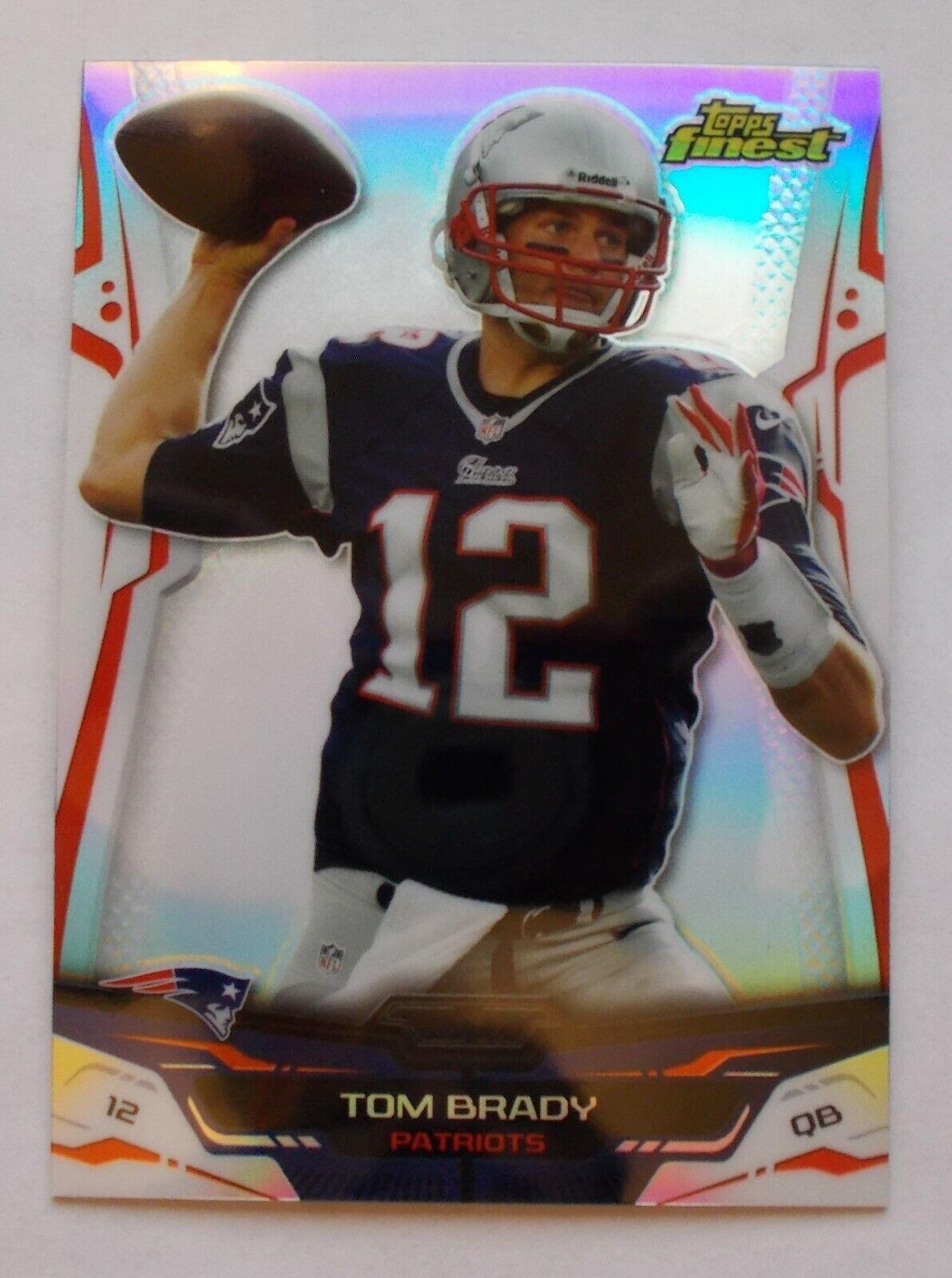 2014 Topps Finest TOM BRADY REFRACTOR Patriots - $34.99