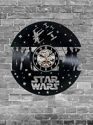 Star Wars Clock, Star Wars Print, Star Wars Decor, Star Wars Design, Gift Idea