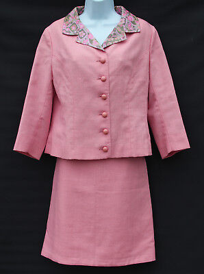 Sublime original early-mid 60s Jaeger tailleur (approx modern size UK 10-12)