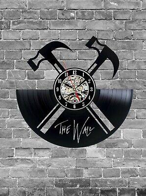 Pink Floyd Vinyl Clock, Wall Clock, Home Decoration, Music Gift Idea Rock band