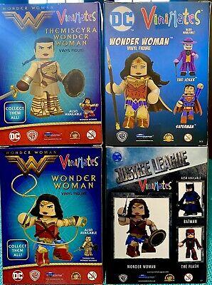 LOT of Wonder Woman Movie Vinyl Figures Collection