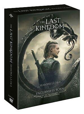 The Last Kingdom: Seasons 1, 2, 3 & 4 (Box Set) [DVD]