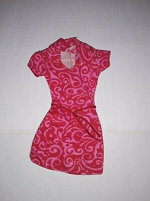 Vintage Barbie 70s new nylon dress, purple lable new