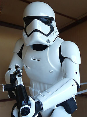 ANOVOS STAR WARS THE FORCE AWAKENS FIRST ORDER STORMTROOPER STATUE FIGURE BUST