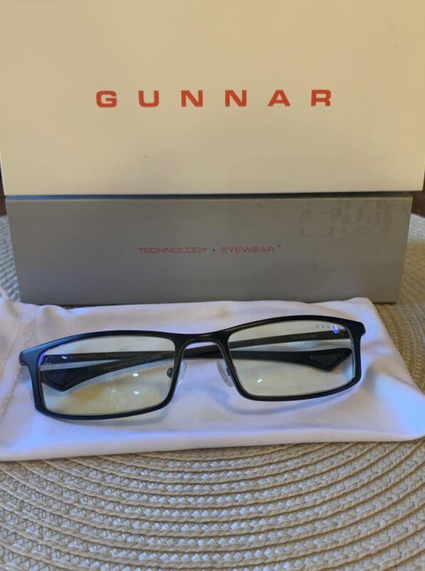 GUNNAR Gaming and Computer Eyewear/Phenom, Amber Tint.