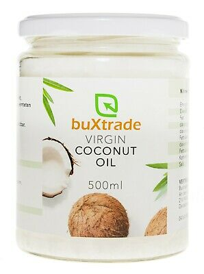 24 Cristales (24x500ml) Virgin Coconut Oil Aceite de Coco Aceite Cocinar Coco