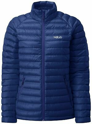 RAB Women Blue Print Microlight Insulated Down Jacket Ladies UK 16 BNWT for sale  Shipping to Ireland